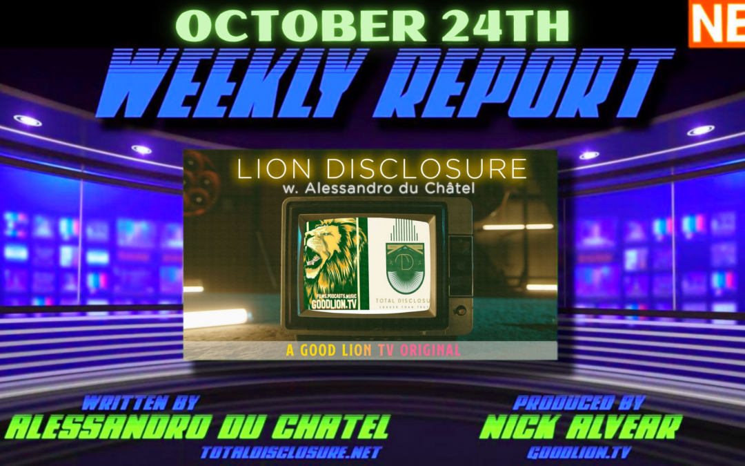 WEEKLY REPORT 10/24/21