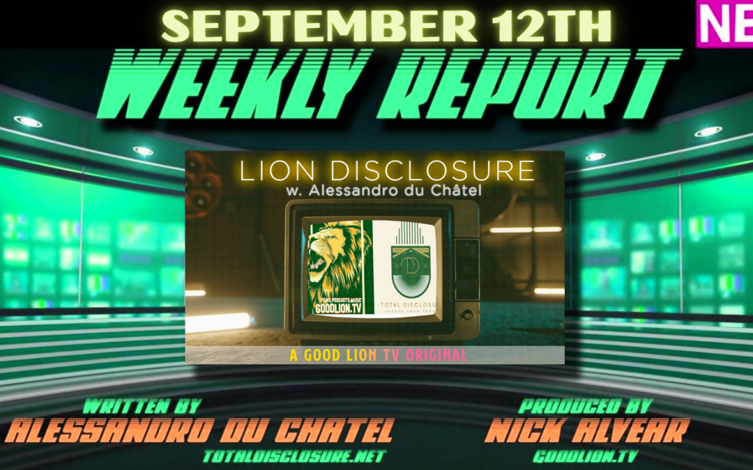 WEEKLY REPORT 9/12/21